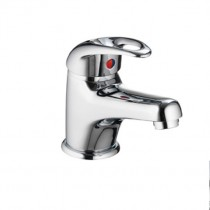 DV8 Eco Small Basin Mixer Inc Clicker Waste