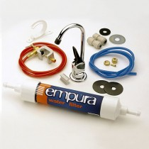Empura 6 Water Filter Chrome Plated