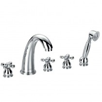 Elegance 5 Hole Bath Shower Mixer