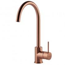 Elara Sink Mixer Brushed Copper