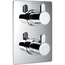 Flova Essence Thermo Shower Valve 3 Way Diverter