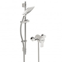 Bristan Exodus Thermostatic Exposed Single Control Shower Valve with Adjustable Riser