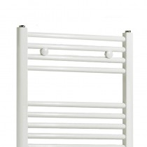 TS 600 x 1150 Towel Rail Flat White Pack