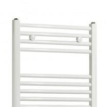TS Compact 300 x 1430 Towel Rail Flat White Pack