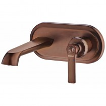 Liberty Concealed Basin Mixer with Waste Bronze