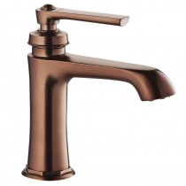 Liberty Single Lever Basin Mixer Bronze