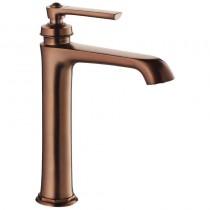 Liberty Single Lever Tall Basin Mixer Bronze