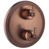 Liberty Thermostatic Concealed 2-Way Manual Shower Mixer Bronze