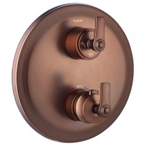 Liberty Thermostatic Concealed 3-Way Manual Shower Mixer Bronze