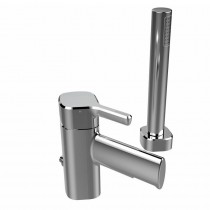 Flute 2 Hole Bath Shower Mixer Chrome