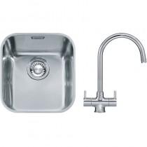 Franke Ariane (ARX 110 33) 1B Undermount Sink & Chrome Athena Mixer Tap Pack