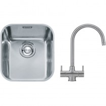 Franke Ariane (ARX 110 33) 1B Undermount Sink & SS Athena Mixer Tap Pack