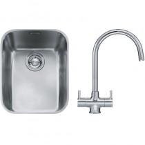 Franke Ariane (ARX 110 35) 1B Undermount Sink & Chrome Athena Tap