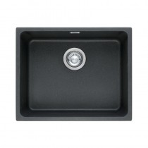 Franke Kubus 1 Bowl Undermount Sink Onyx