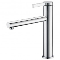 Galatea Top Lever Mixer Tap with Pull Out Aerator Brushed Nickel