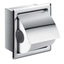 Gloria Single Concealed Toilet Roll Holder