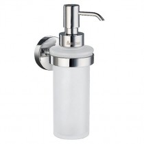Home Wall Mounted Glass Soap Dispenser