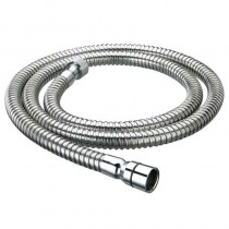 Cone to Nut 8mm Bore Hose Shown in Chrome