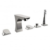 Hourglass 5 Hole Bath Shower Mixer