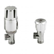 Thermostatic Radiator Valve Pack Straight