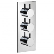 Ivo Flow Two Outlet Thermostatic Shower Valve