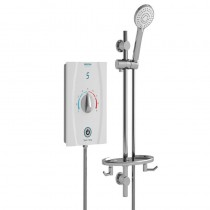 Joy Care Thermostatic 9.5kW Electric Shower White