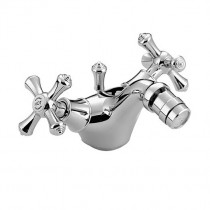 Colonial Bidet Mixer with Pop-up Waste Chrome