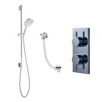 Crosswater Kai Digital Shower Dual Outlet KAIPACK 08 HP