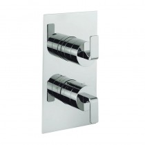 KH Zero 1 Thermostatic Shower Valve 3 Way Diverter Portrait