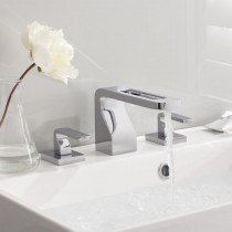 Crosswater KH Zero 1 3 Hole Basin Mixer