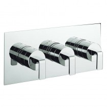 Crosswater KH Zero 1 Thermostatic Shower Valve 3 Way Landscape