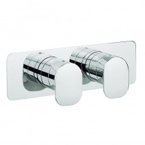 Crosswater KH Zero 2 Thermostatic Shower Valve with 2 Way Diverter Landscape