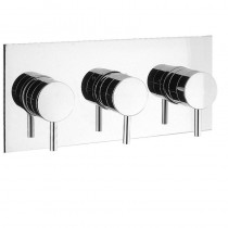 Kai Lever Thermostatic Shower Valve 3 Control Landscape