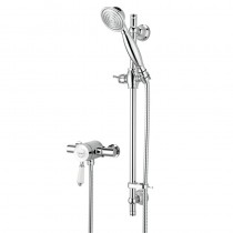 Colonial Thermostatic Shower Valve with Adjustable Riser