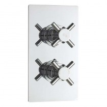 Kristal Twin Thermostatic Shower Valve