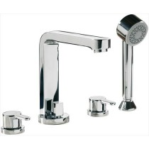 LA3 4 Hole Bath Shower Mixer