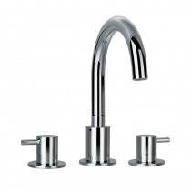 Levo Three Hole Bath Filler