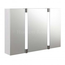 Hudson Reed Lincoln Mirror Cabinet with LED Light