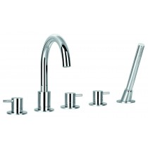 Levo 5 Hole Bath Shower Mixer