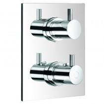 Levo Single Outlet Thermostatic Shower Valve