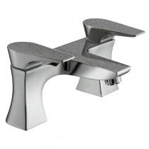 Metallix Hourglass Bath Filler Graphite Glisten