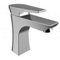 Metallix Hourglass One Hole Bath Filler Graphite Glisten