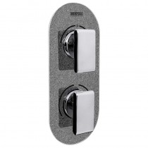 Metallix Pivot Two Outlet Diverter Graphite Glisten