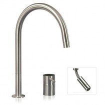 F2 RE 2 Hole Mixer Tap With Pull Out Spout