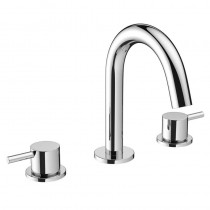Crosswater Mike Pro 3 Hole Basin Mixer Chrome
