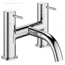 Crosswater Mike Pro Bath Filler Chrome