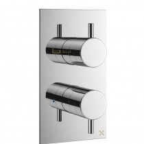 Mike Pro Thermostatic Bath Shower Valve Chrome