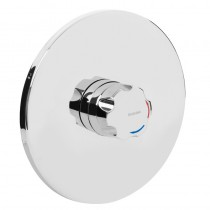 OPAC Thermostatic Concealed Mini Valve with Chrome Handwheel