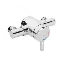 OPAC Thermostatic Exposed Mini Valve with Chrome Handwheel