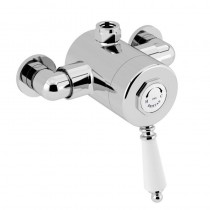 1901 Exposed Sequential Chrome Top Outlet Shower Valve
